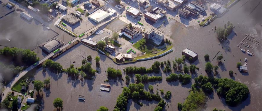 Poplar Bluff, MO commercial storm cleanup